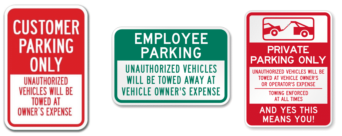 What Means Parking On Private Property