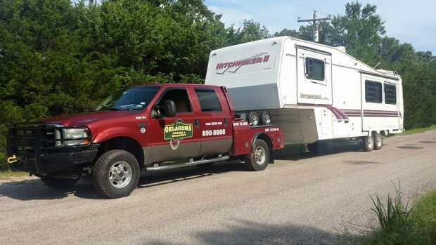 Oklahoma Towing & Recovery for fifth wheel towing service